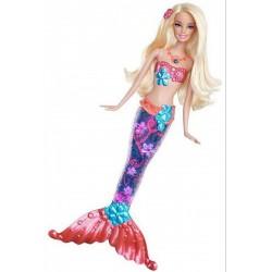 Barbie - Világító Sellő Barbie, szőke BARBIE
