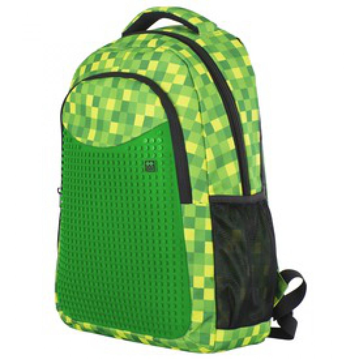 5bbd855ea1fb Pixie hátizsák, iskolatáska - zöld-fekete