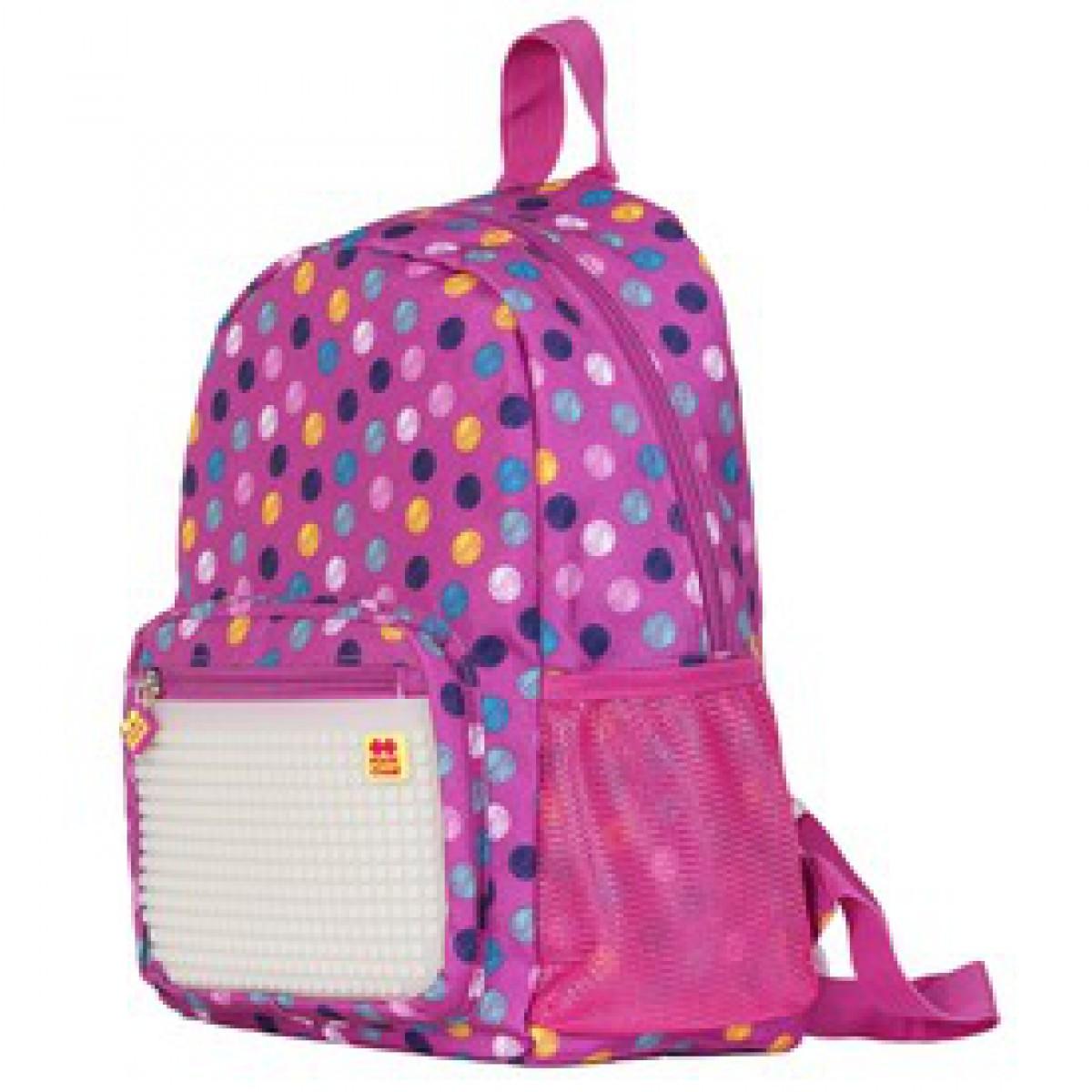 f390ce2bc6dd Pixie sötétben világító iskolás hátizsák, iskolatáska - rózsaszín