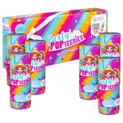 Party popteenies 6 darabos meglepetés Popper Party PopTeenies játékok Party popteenies