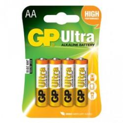 GP Ultra AA ceruzaelem 4 darabos készlet - ELEMEK GP
