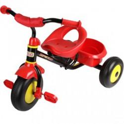 Fémvázas tricikli - piros - Járművek