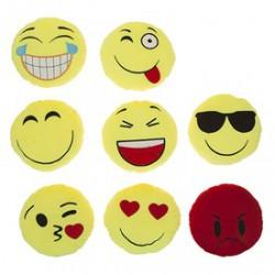 Smiley plüssfigura - 20 cm, többféle változatban Játék