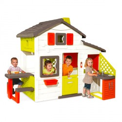 Smoby baráti kerti házikó konyhával Játék