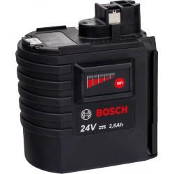 BOSCH 2607337298 NiMH akkumulátor, 24 V, 2,6 Ah, lapos típus, SD - Bosch termékek Bosch