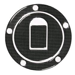 Lampa tanksapka dísz - KAWASAKI - Carbon mintával - DEKORÁCIÓ