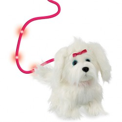 Animagic Fluffy a sétáló szőrgombóc kutyus - 22 cm