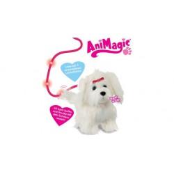 Animagic Fluffy a sétáló szőrgombóc kutyus - 22 cm - Animagic játékok Animagic