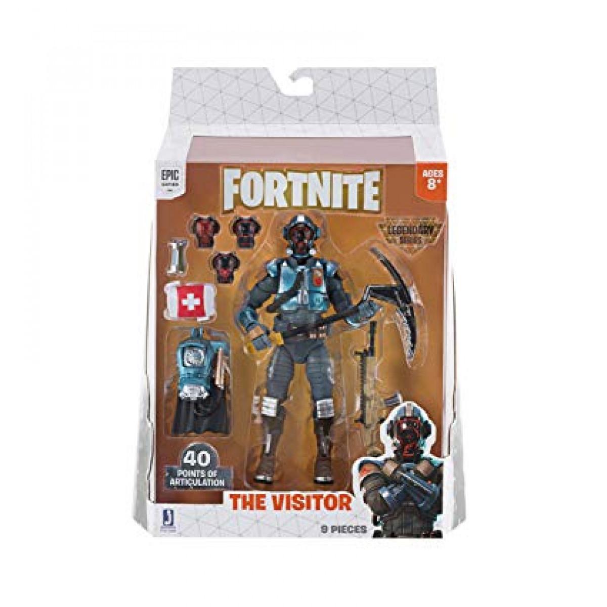 Fortnite The Visitor figura kiegészítőkkel 15 cm