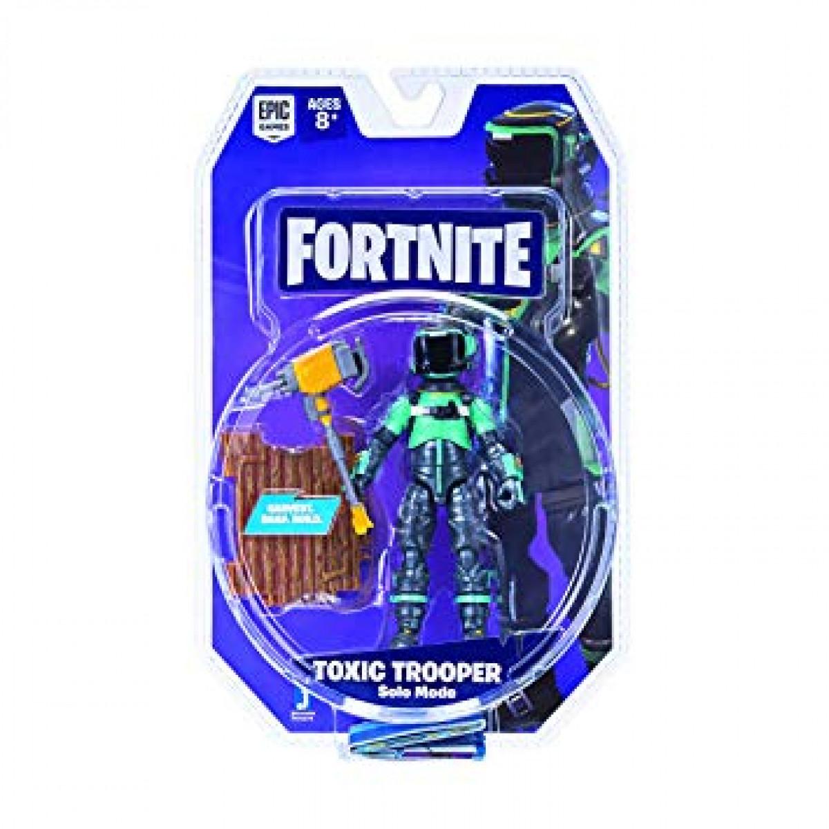 Fortnite Szóló mód Toxic Trooper figura 10 cm