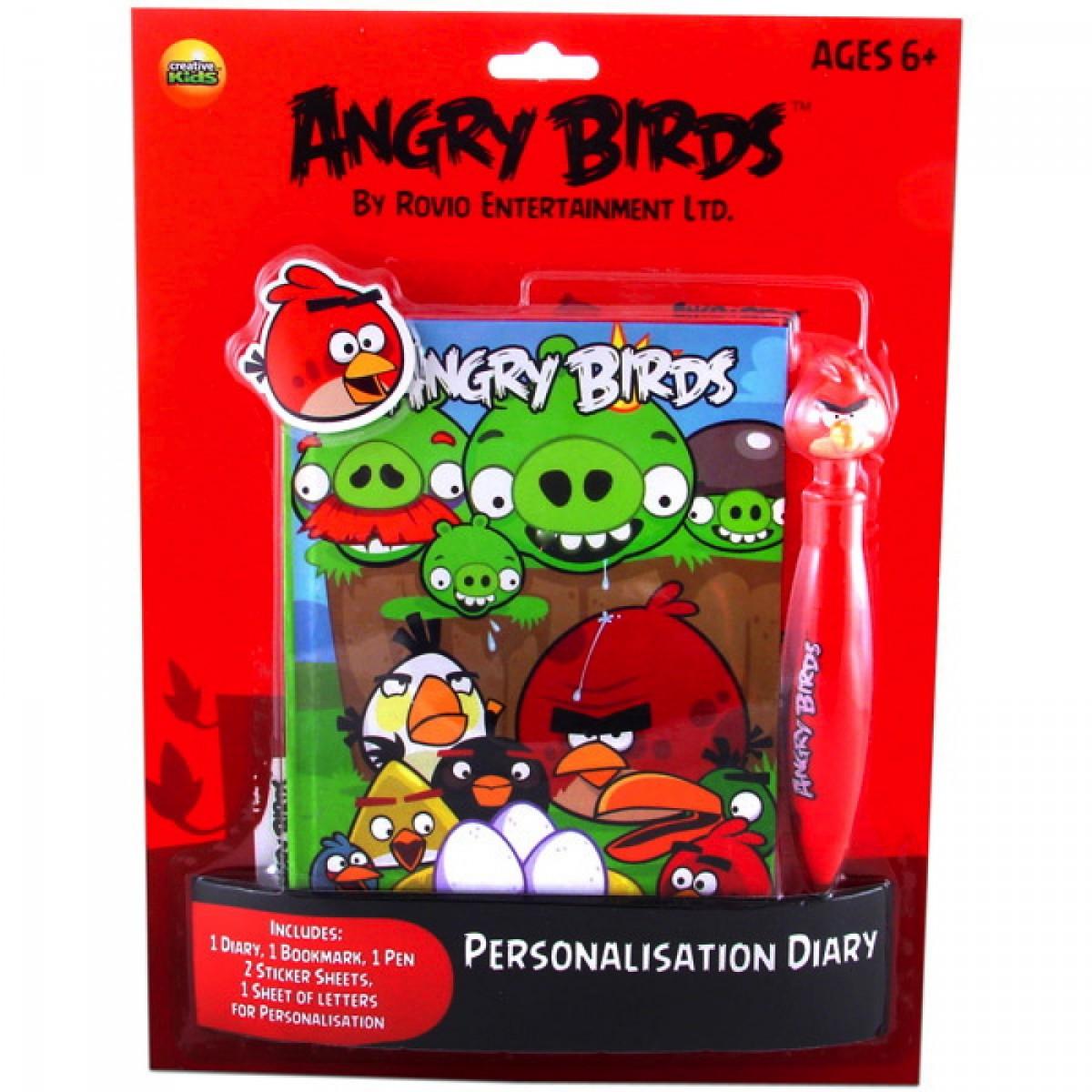 Angry Birds - napló készlet - - ANGRY BIRDS  68db338800