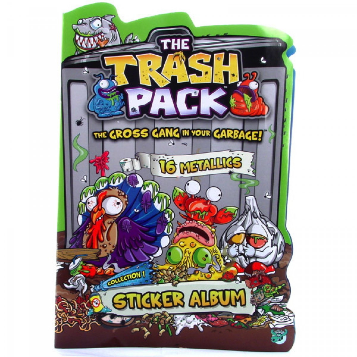 11eceaddb3 Trash Pack - Kukabúvárok matricagyűjtő album - - TRASH PACK ...
