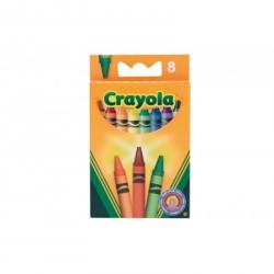 Crayola - Zsírkréta készlet 8 db - CRAYOLA kreatív játékok