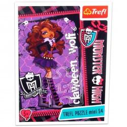 Monster High - 54 db-os miniatűr puzzle - Clawdeen Wolf - Monster High babák, játékok