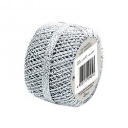 Herlitz - Díszzsinór 20m ezüst - Csomagolópapírok