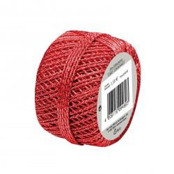 Herlitz - Díszzsinór 20m piros - Csomagolópapírok