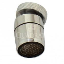 QUADRAT - Csapszűrő, gömcsuklós FÉM - Fürdőszobai kiegészítők
