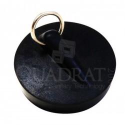 QUADRAT - Dugó, gumi, 45,5-ös, fém karikával - Fürdőszobai kiegészítők