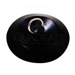 QUADRAT - Dugó, gumi, univerzális, fém karikával - Fürdőszobai kiegészítők