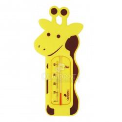 QUADRAT - Hőmérő, műanyag, figurás II., citromsárga - Fürdőszobai kiegészítők