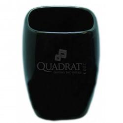 QUADRAT - Kerámia, ART BLACK Family, fürdőszoba kiegészítő - Fürdőszobai kiegészítők
