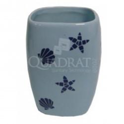 QUADRAT - Kerámia, ART BLUE Family, fürdőszoba kiegészítő - Fürdőszobai kiegészítők