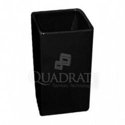 QUADRAT - Kerámia, CUBES BLACK Family, fürdőszoba kiegészítő - Fürdőszobai kiegészítők