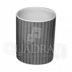 QUADRAT - Kerámia, LINE BLACK Family, fürdőszoba kiegészítő - Fürdőszobai kiegészítők