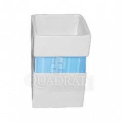 QUADRAT - Kerámia, LINE BLUE Family, fürdőszoba kiegészítő - Fürdőszobai kiegészítők