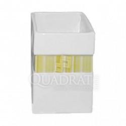 QUADRAT - Kerámia, LINE GREEN Family, fürdőszoba kiegészítő - Fürdőszobai kiegészítők