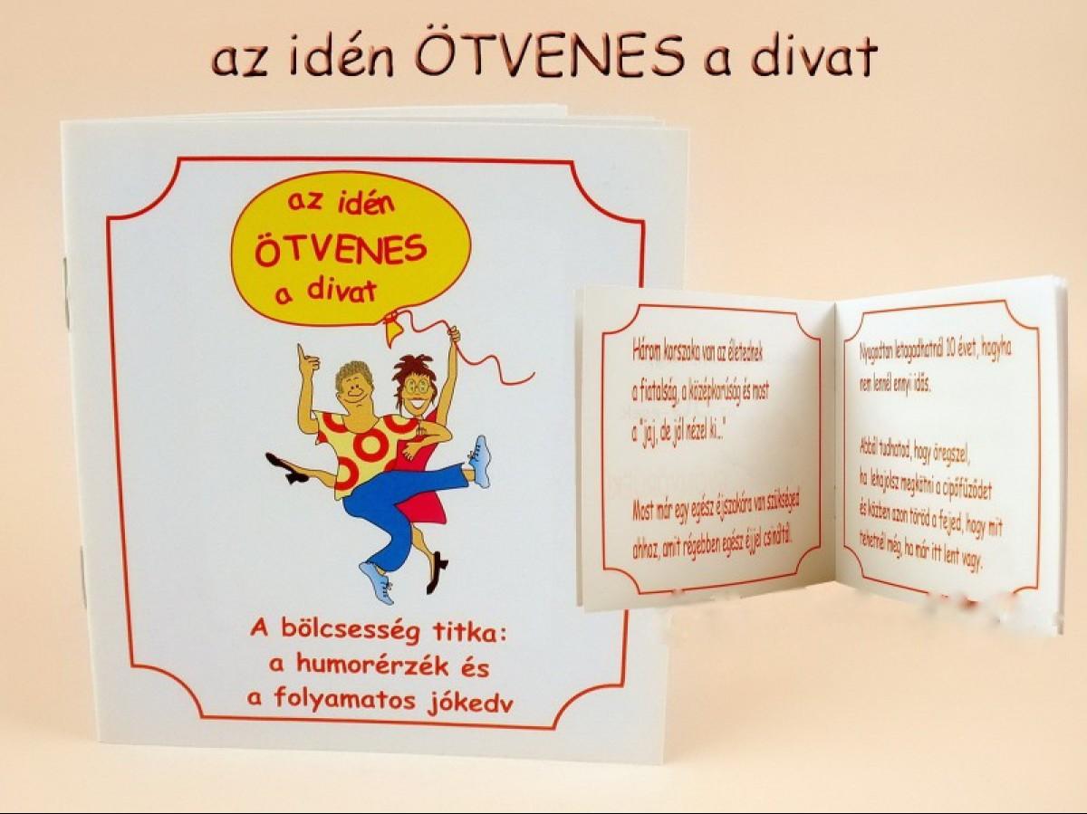 50 éves vicces születésnapi köszöntő Vicces születésnapi idézetek füzete (50 eseknek)    Vicces  50 éves vicces születésnapi köszöntő