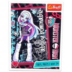 Monster High - 54 db-os miniatűr puzzle - Abbey Bominable - Monster High babák, játékok