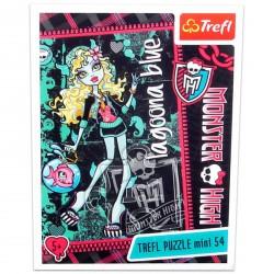Monster High - 54 db-os miniatűr puzzle - Lagoona Blue - Monster High babák, játékok