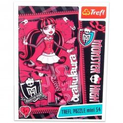 Monster High - 54 db-os miniatűr puzzle - Draculaura - Monster High babák, játékok