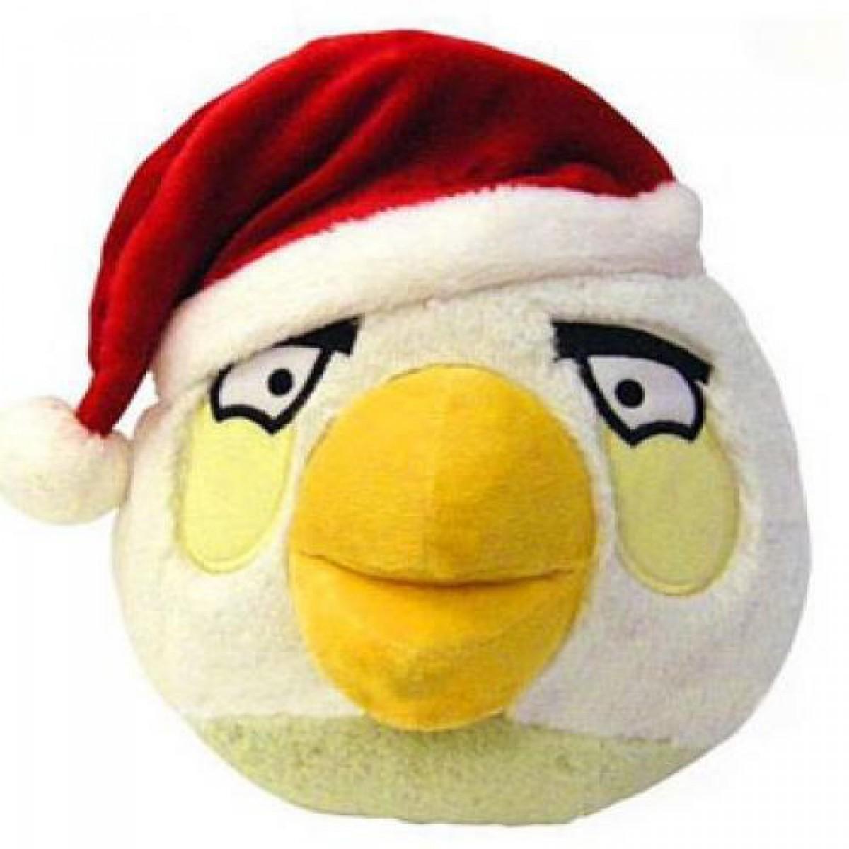 Angry Birds - 13 cm-es Fehér madár plüssfigura téli kiadás 740145fb87
