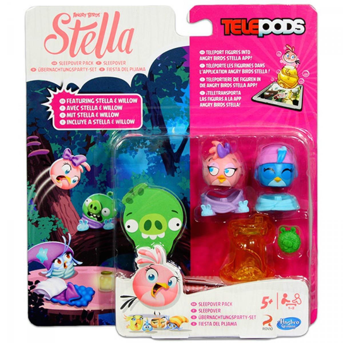 Angry Birds Stella - Telepods Duo Pack - rózsaszín és kék madár 18d83760ec
