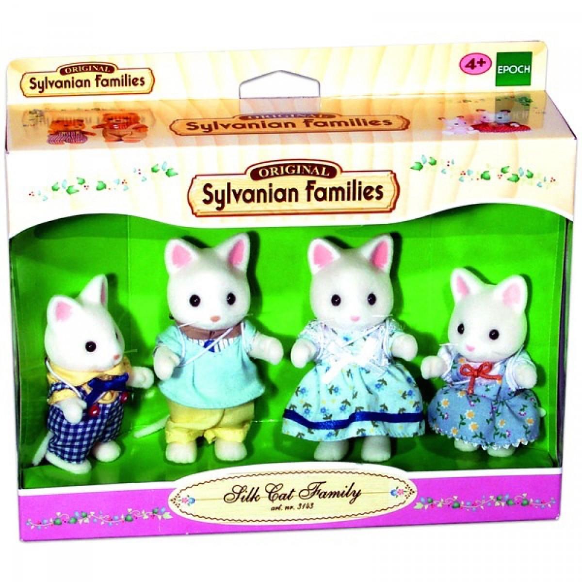 Sylvanian Families - Selyem cica család - Játék  48b5d48d02