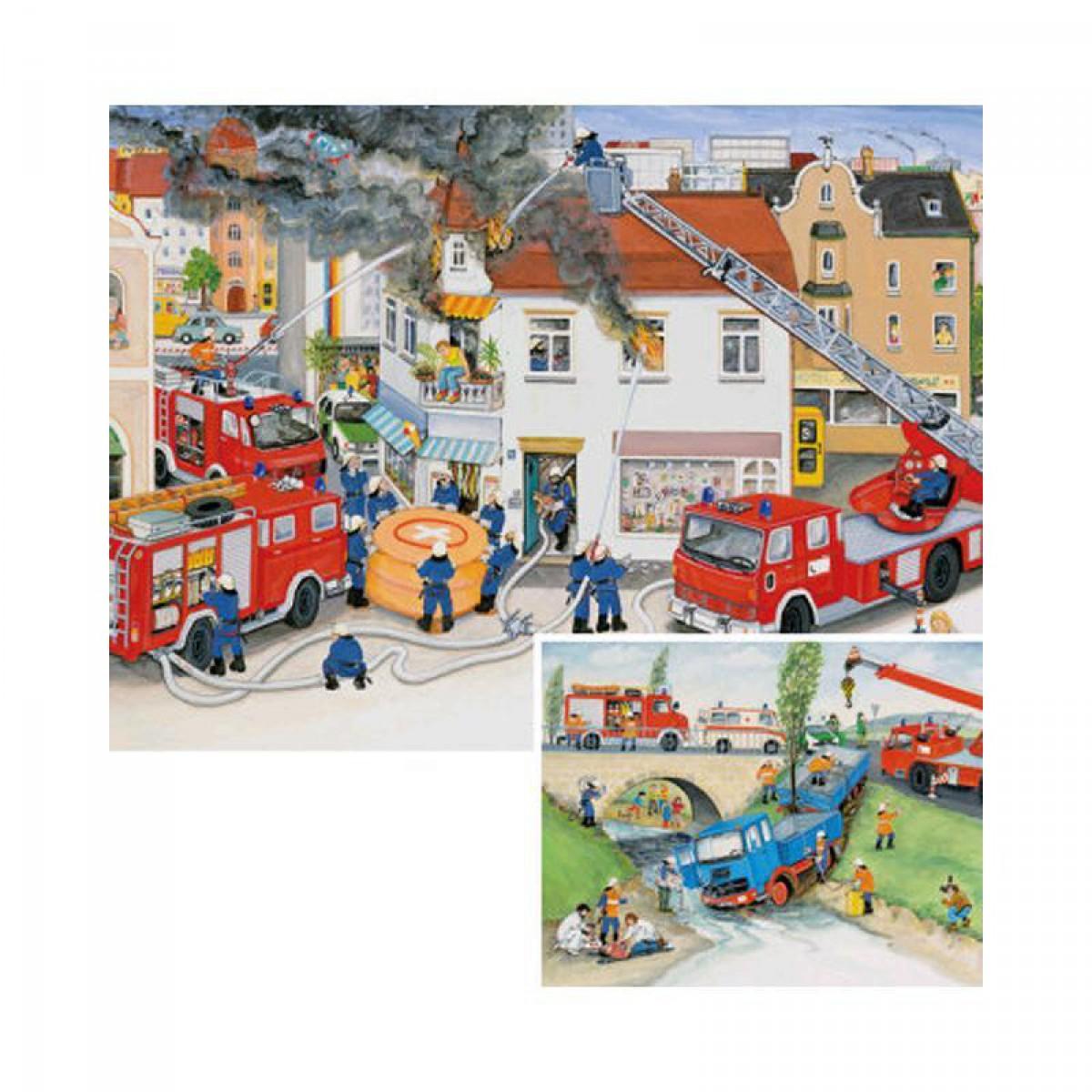 f3ef32ed05 Ravensburger - Puzzle 2x20 db - Tűzoltók - Játék | Játék, ajándék ...