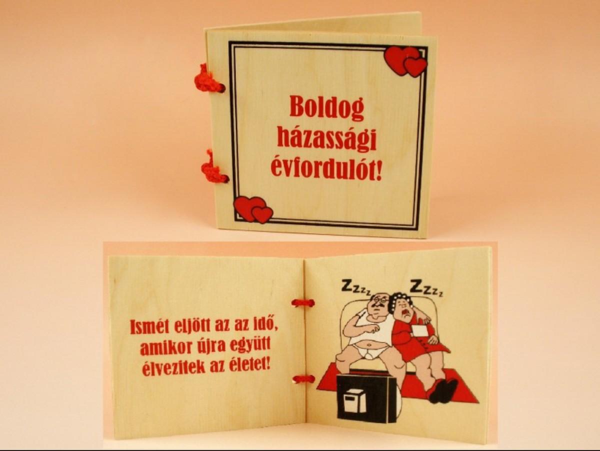 Kiskönyv - Boldog házassági évfordulót! - -Vicces meglepik  c75b1fe22d