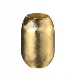 Herlitz - Tojáskötöző 15mx8mm arany, anyagában mintás felülettel - Csomagolópapírok