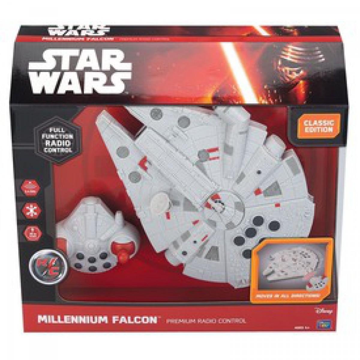 76b1a1b4deff Star Wars - távirányítós Millenium Falcon - 26 cm - - Star wars ...