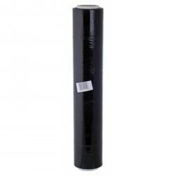 Kézi nyújtható fólia, fekete, 0,5m x 210m - Csomagoló fóliák és tartozékok