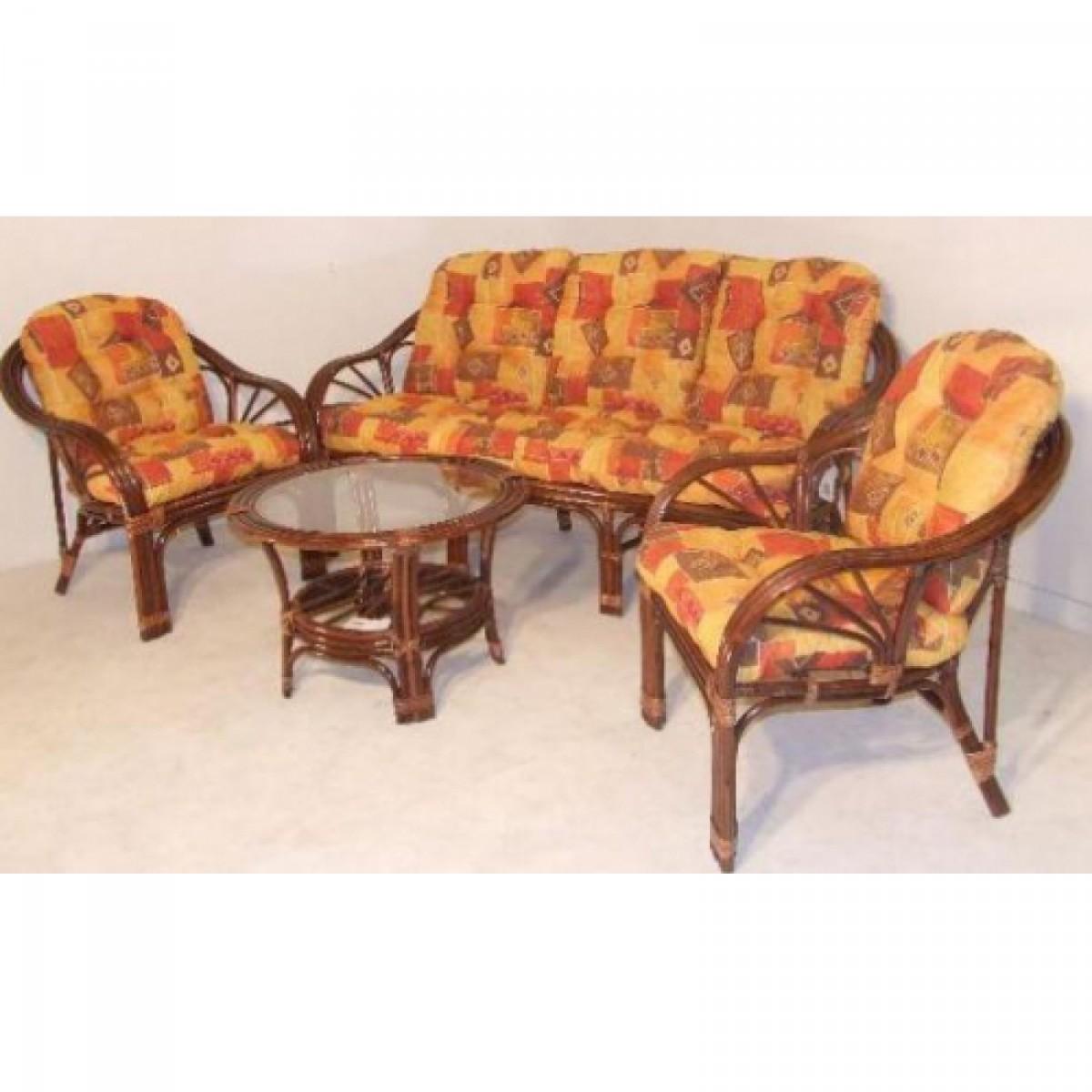 60ac94b77 Mombasa 5 személyes rattan ülőgarnitúra barna színű