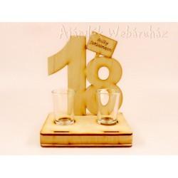 18. születésnapra pálinkás pohár szett -Születésnapi ajándékok ... f24918e1bb