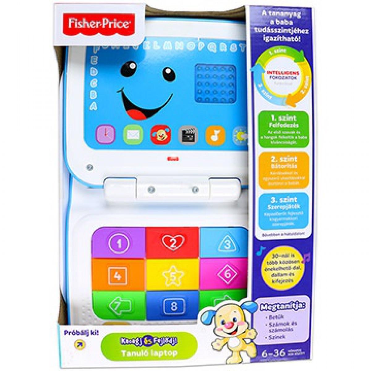 Fisher-Price - Tanuló laptop