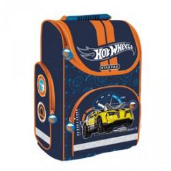 Hot Wheels iskolatáska - kék Táska, sulis felszerelés