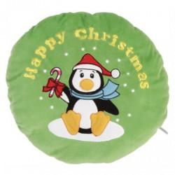Karácsonyi párna - 40 cm, többféle színben és mintával - Díszpárnák