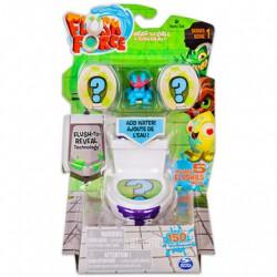 Flush Force Mutáns figurák a piszkos ötös csomag, figurák WC-ben 5 darabos szett - többféle - FLUSH Force játékok Flush Force Mutánsok