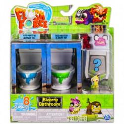 Flush Force bűzös WC játékszett 8 darab figurával - többféle - FLUSH Force játékok Flush Force Mutánsok