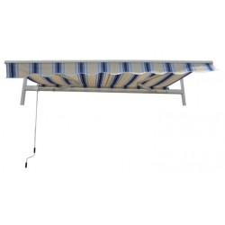 Gardenwell 37928 Napellenző feltekerhető, kék-bézs Otthon Gardenwell